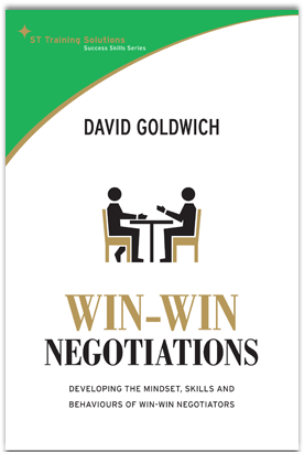 Win-Win Negotiations: Developing the Mindset, Skills and Behaviours of Win-Win Negotiators